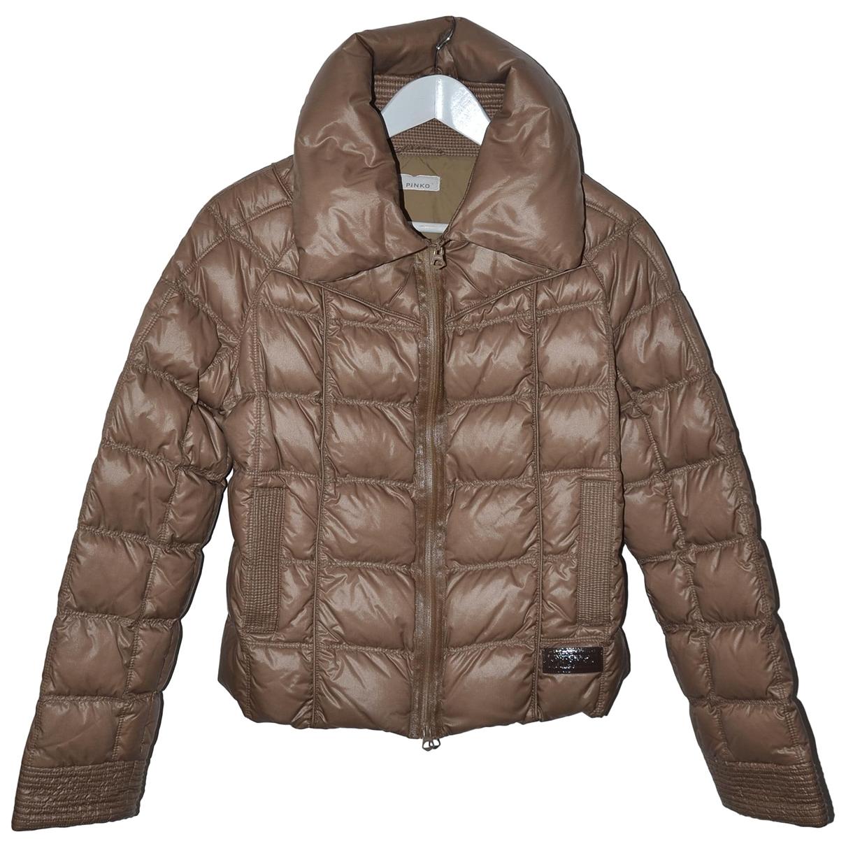 Pinko \N Khaki coat for Women 46 IT