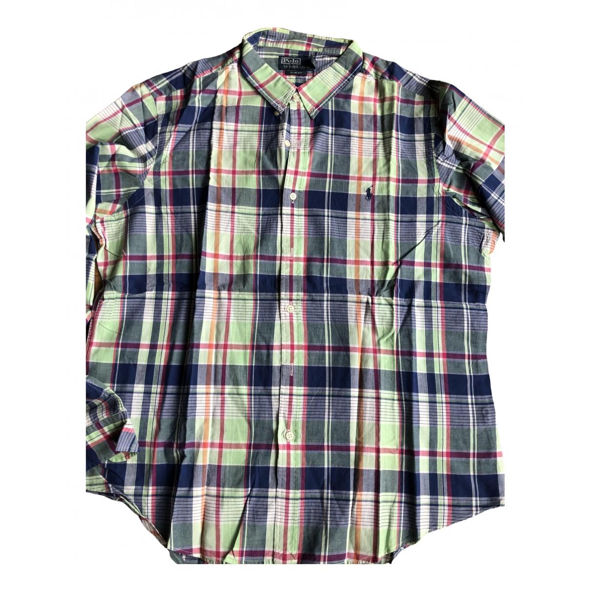 Polo Ralph Lauren \N Multicolour Cotton Shirts for Men XXL International