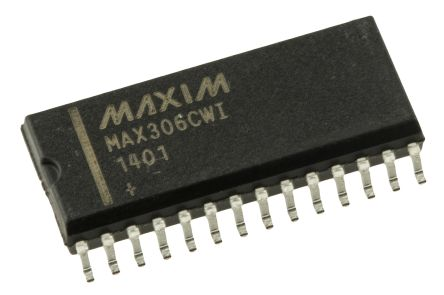 Maxim Integrated MAX306CWI+ , Multiplexer Single 16:1, 5 V, 9 V, 12 V, 15 V, 18 V, 24 V, 28 V, 28-Pin SOIC W (25)