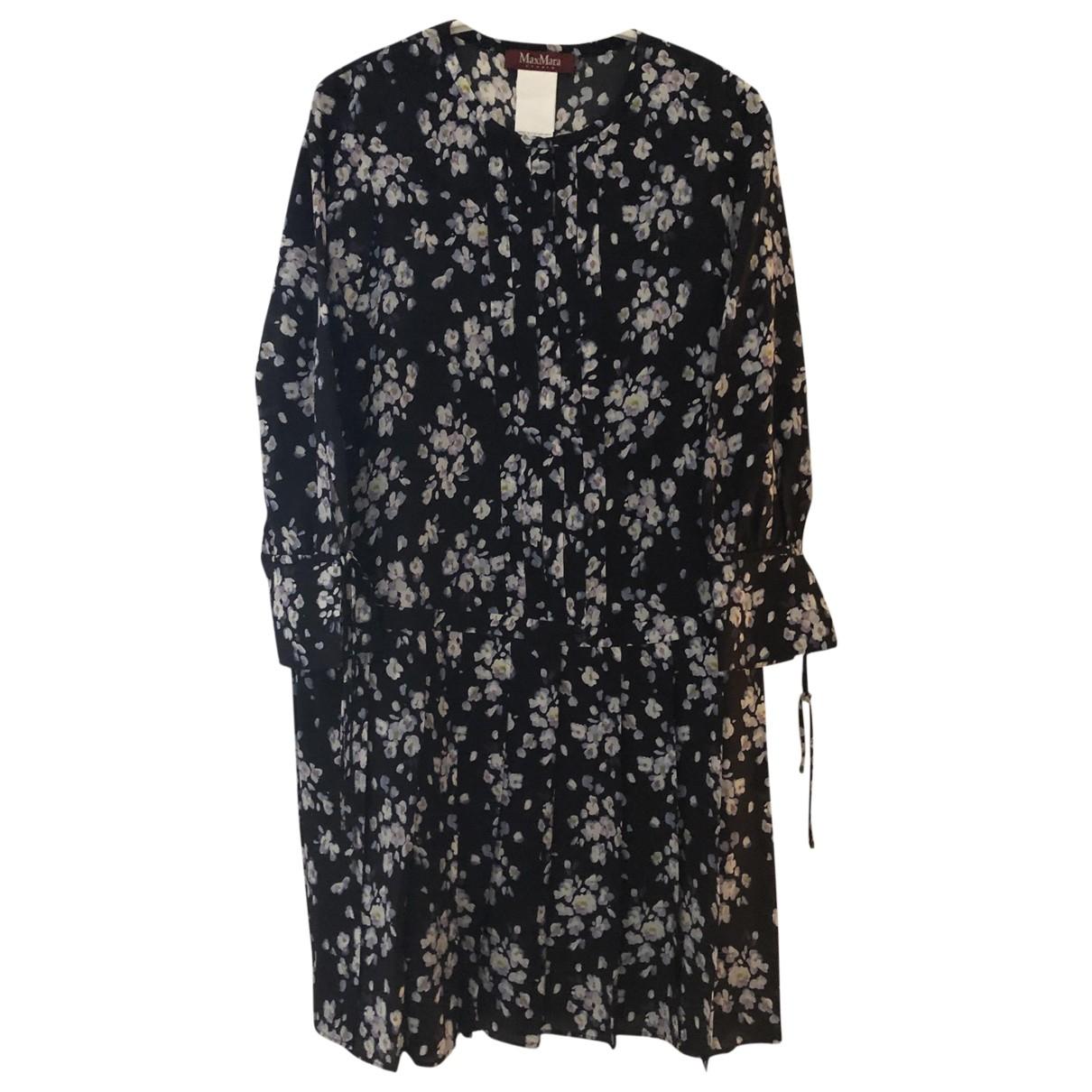 Max Mara Studio \N Multicolour Silk dress for Women 8 UK