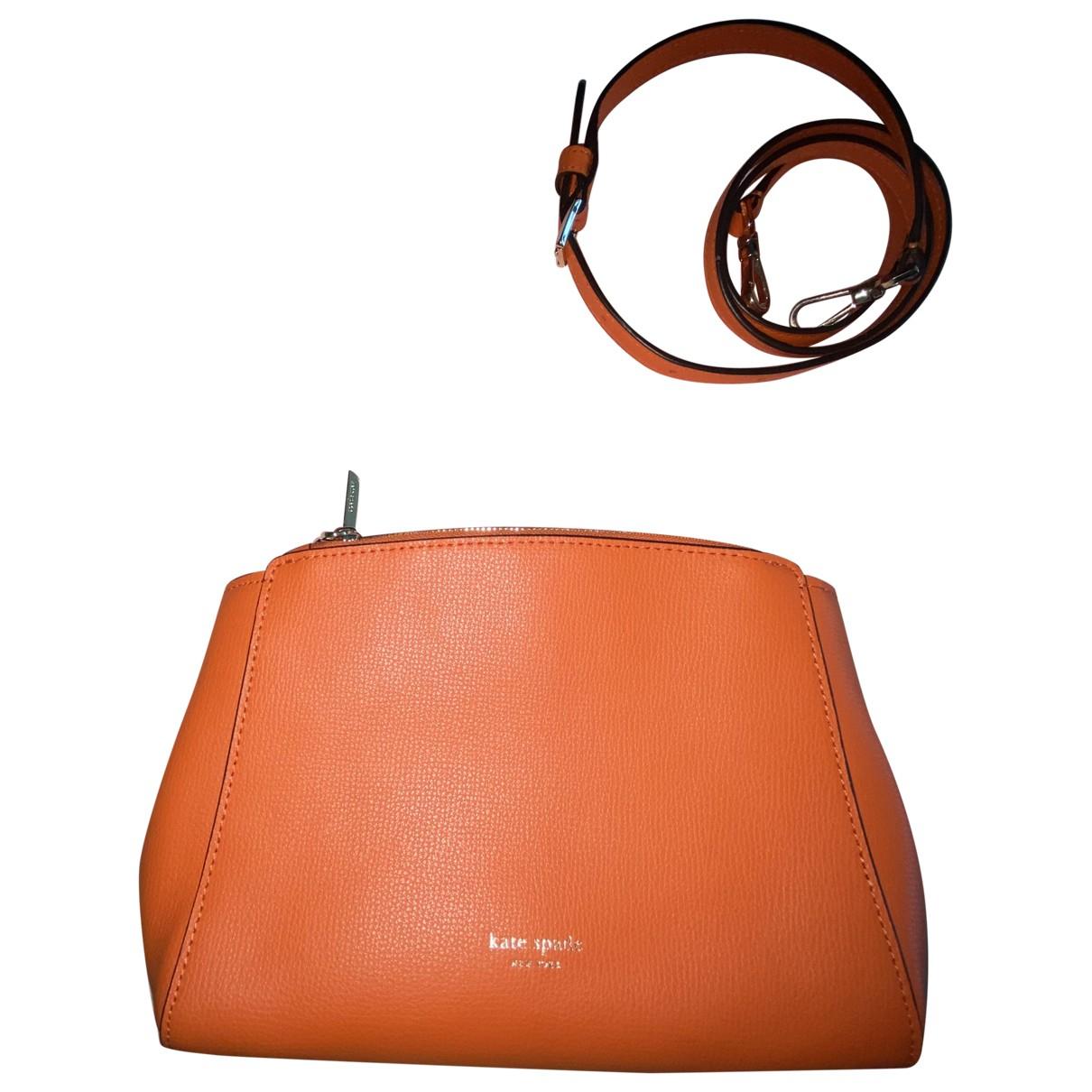 Kate Spade - Sac a main   pour femme en cuir - orange