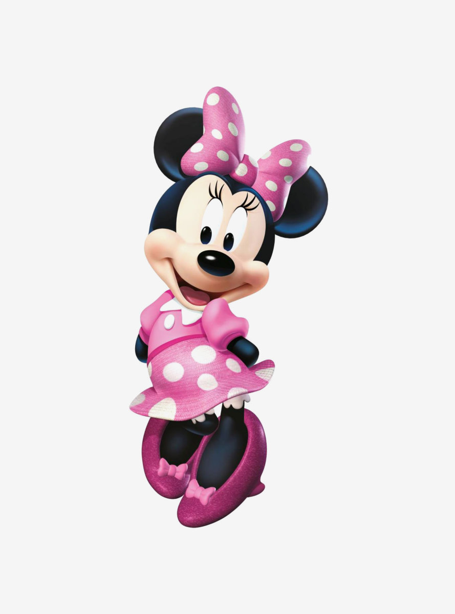 Disney Minnie Bow-Tique Peel & Stick Giant Wall Decal