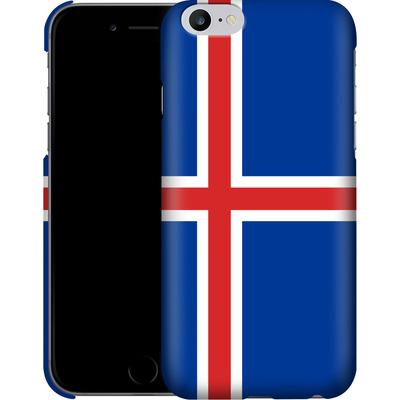 Apple iPhone 6 Plus Smartphone Huelle - Iceland Flag von caseable Designs