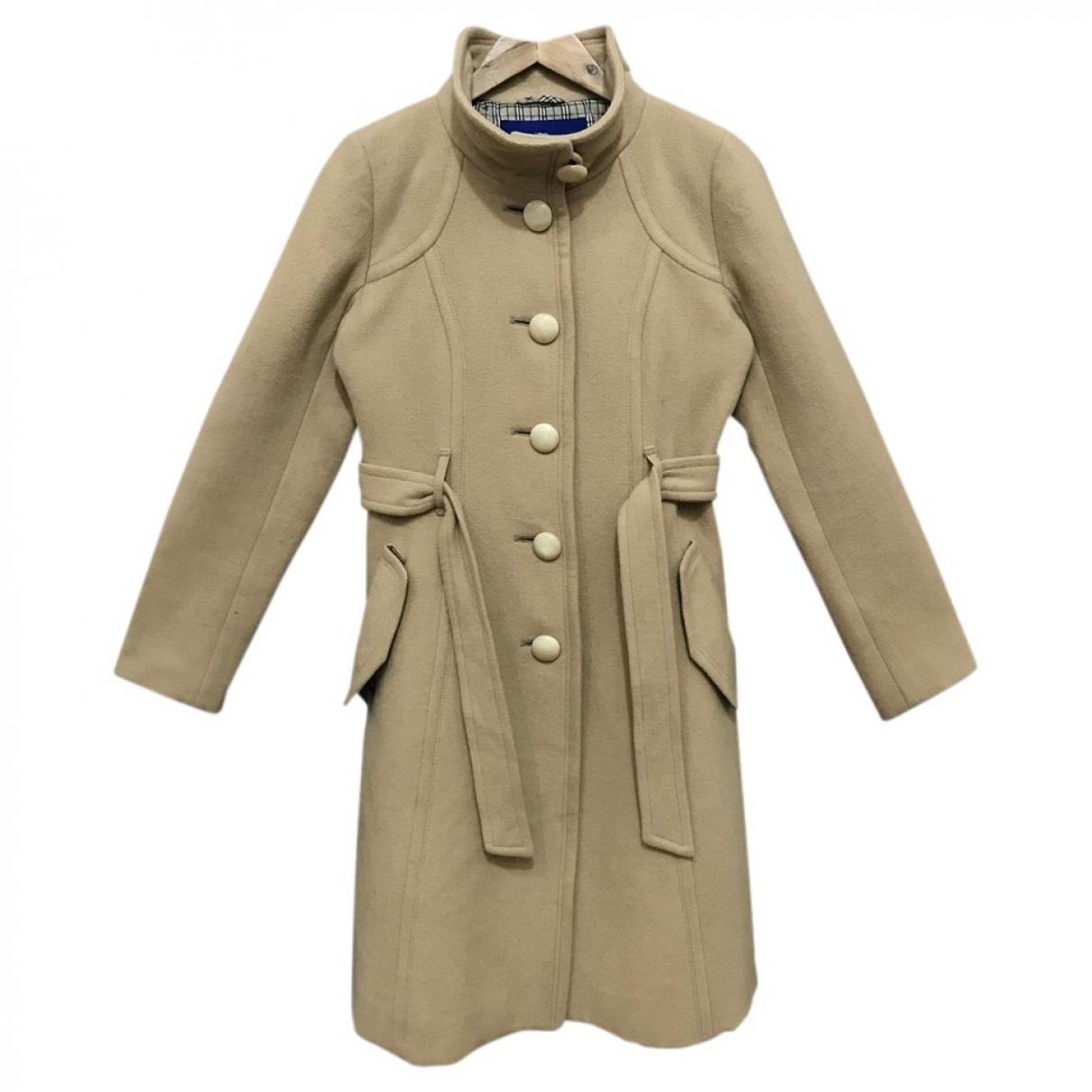 Burberry - Veste   pour femme en laine - kaki