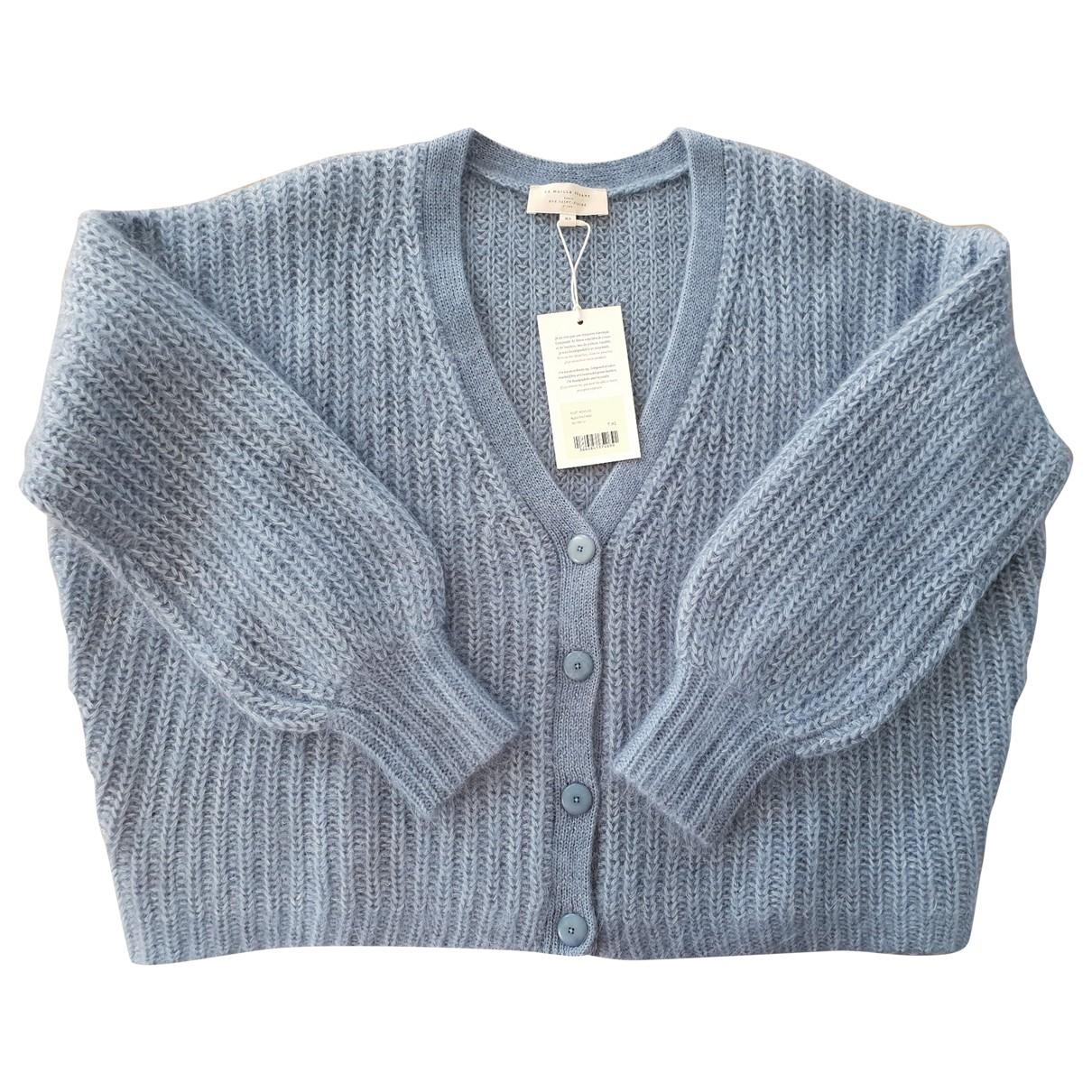 Sézane \N Blue Wool Knitwear for Women 34 FR