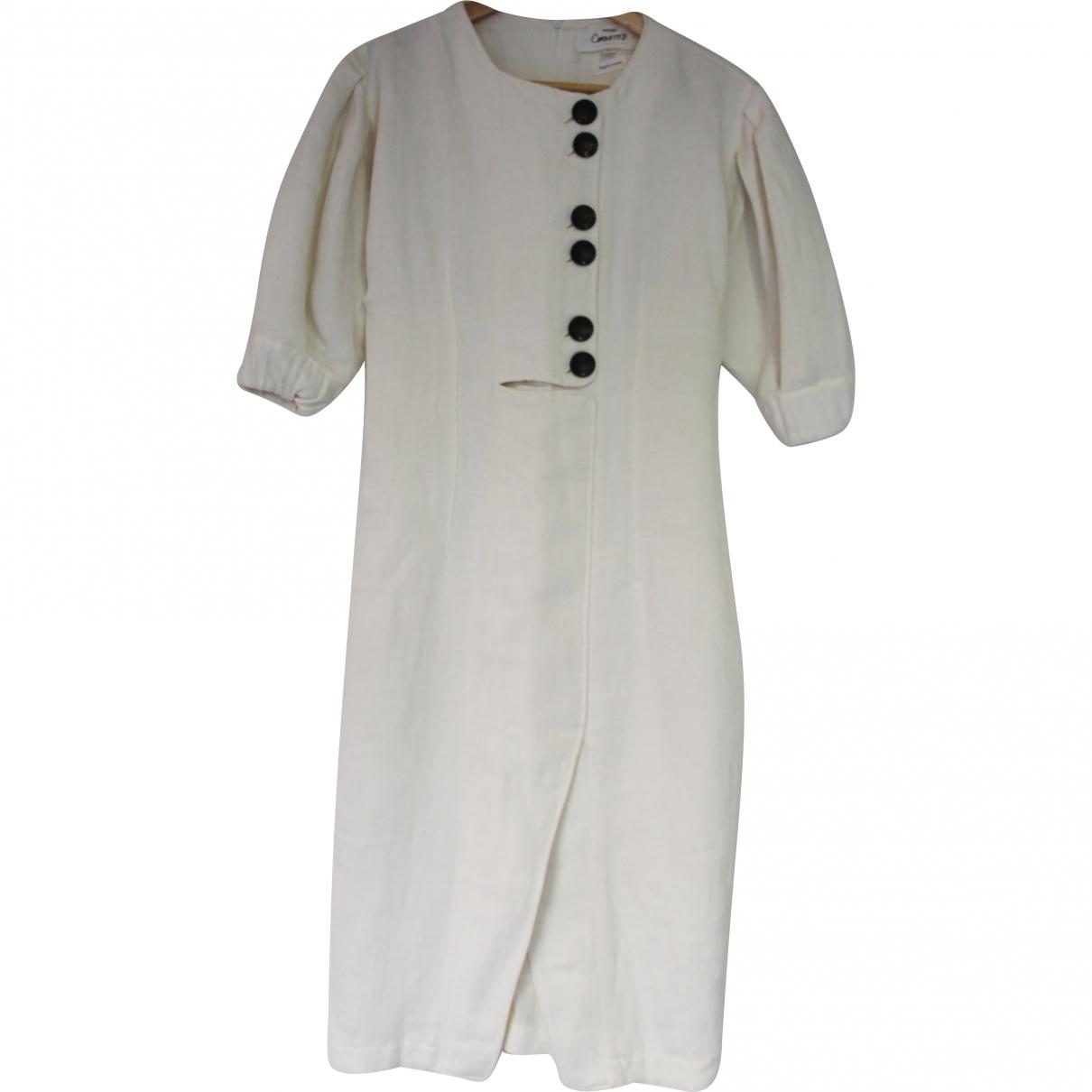 Mango \N White Cotton dress for Women S International