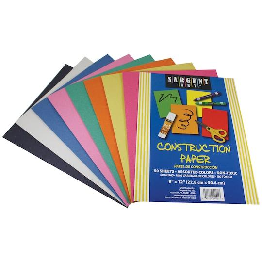 Sargent Art® Construction Paper, 12 Packs Of 50 | Michaels®