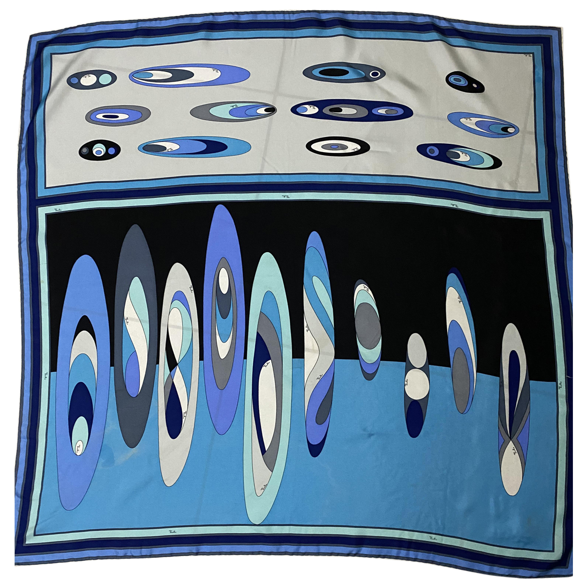 Emilio Pucci N Turquoise Silk scarf for Women N