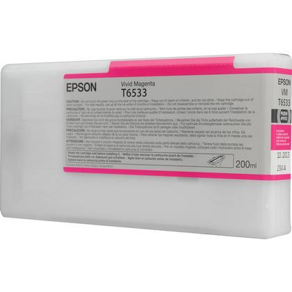 Epson T653300 cartouche d'encre originale magenta vivace
