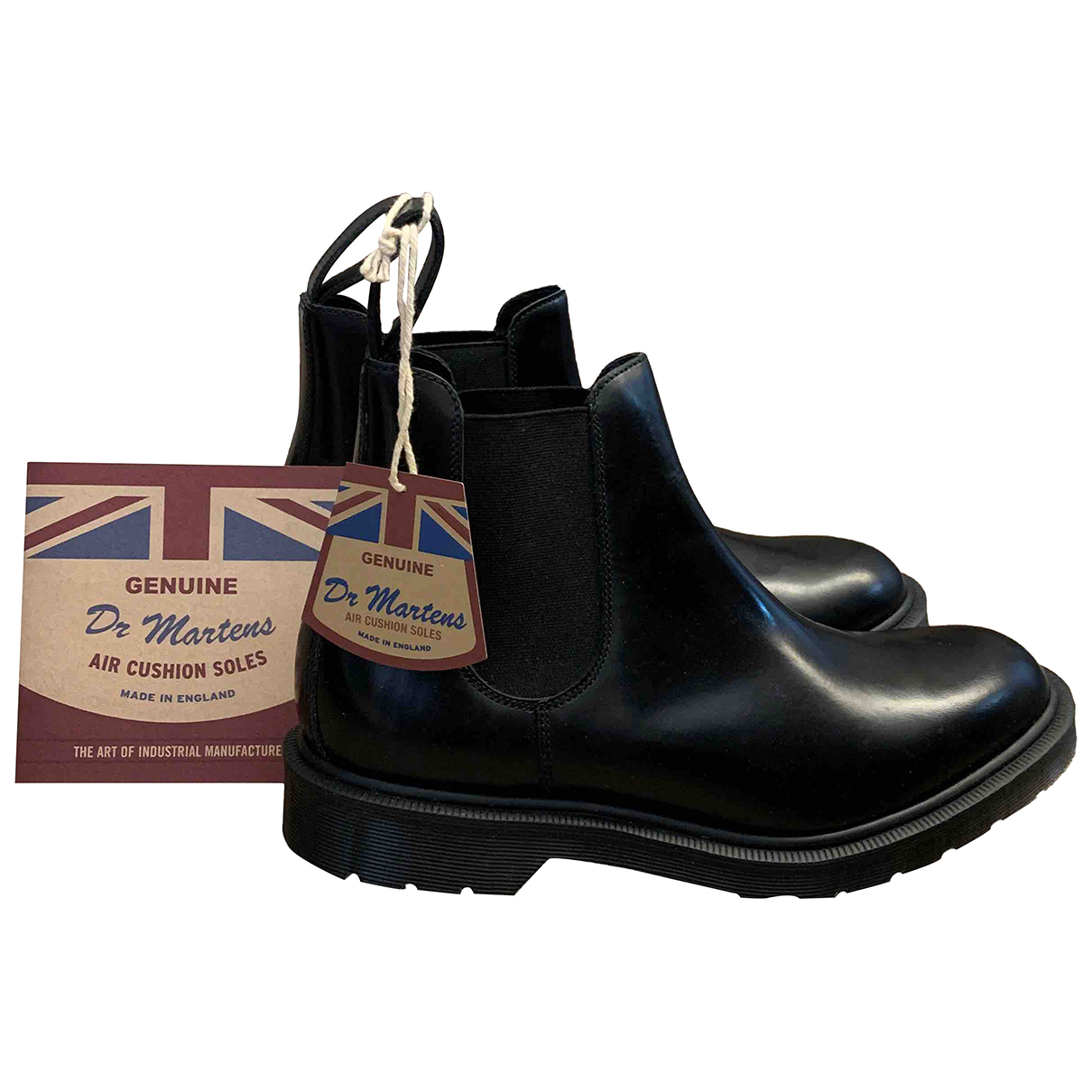 Dr. Martens N Black Leather Ankle boots for Women 41 EU