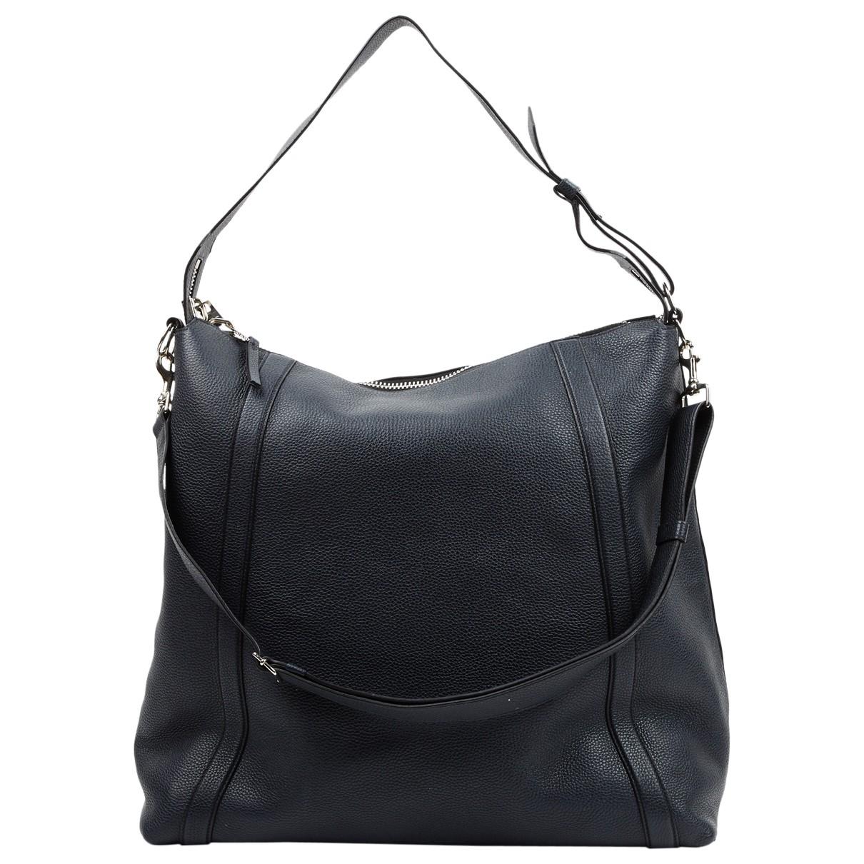 Givenchy \N Reisetasche in  Marine Leder