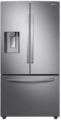 RF23R6201SR 36 Counter Depth French Door Refrigerator with 22.6 cu. ft. Total Capacity  Twin Cooling Plus  Ice Max  External Filter Water and Ice