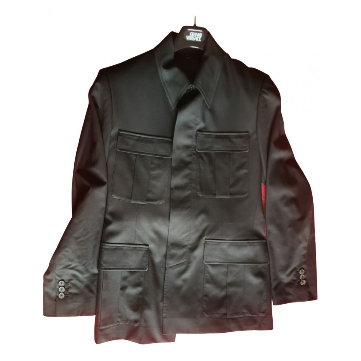 Yves Saint Laurent \N Black Wool Suits for Men 46 IT