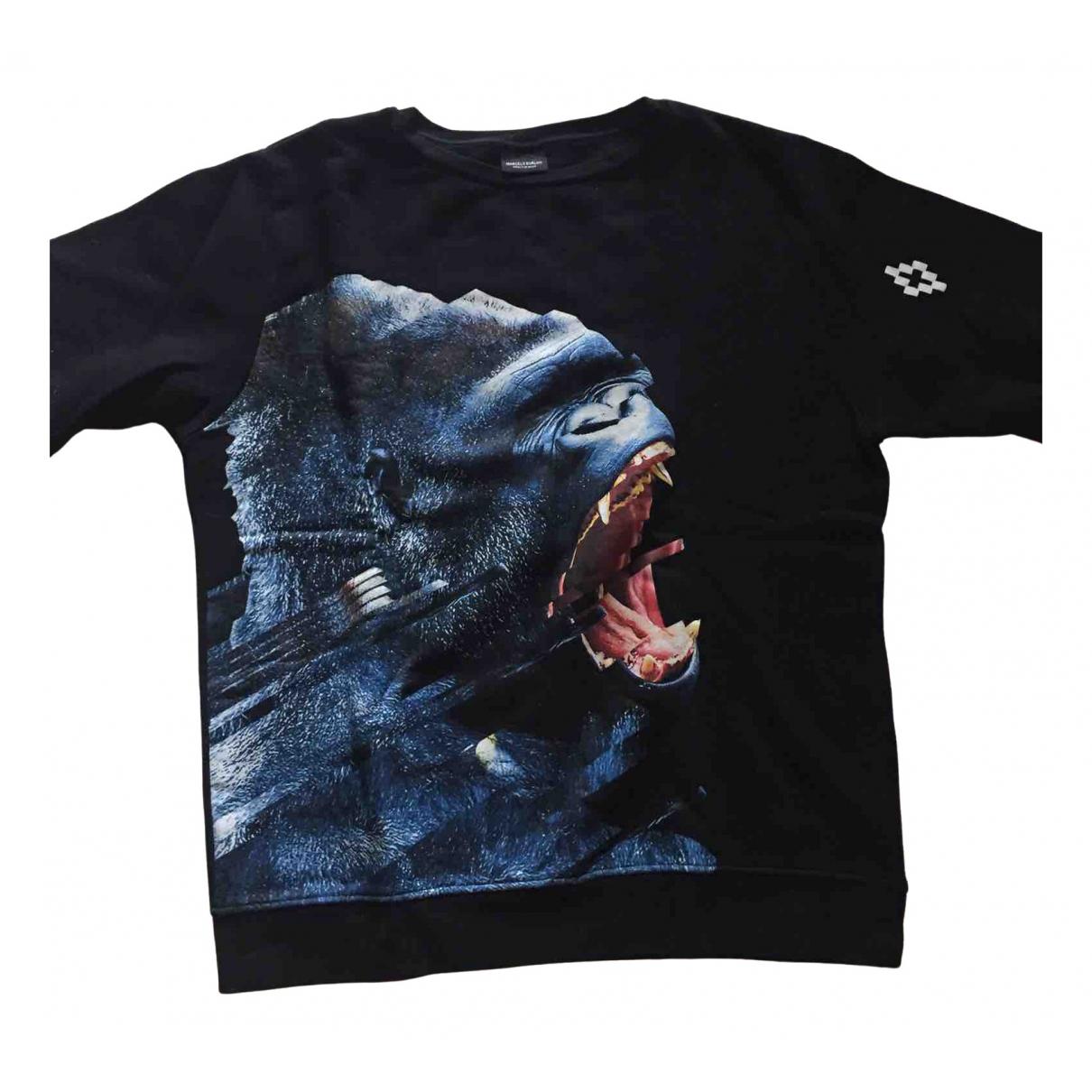 Marcelo Burlon \N Black Cotton Knitwear & Sweatshirts for Men M International