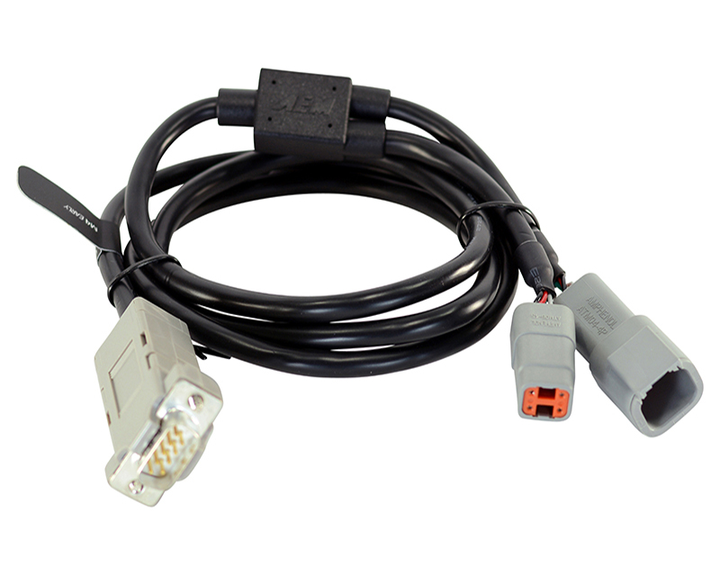 AEM Electronics 30-2230 CD Carbon Serail to CAN Adapter Harness for the early MoTec M4s