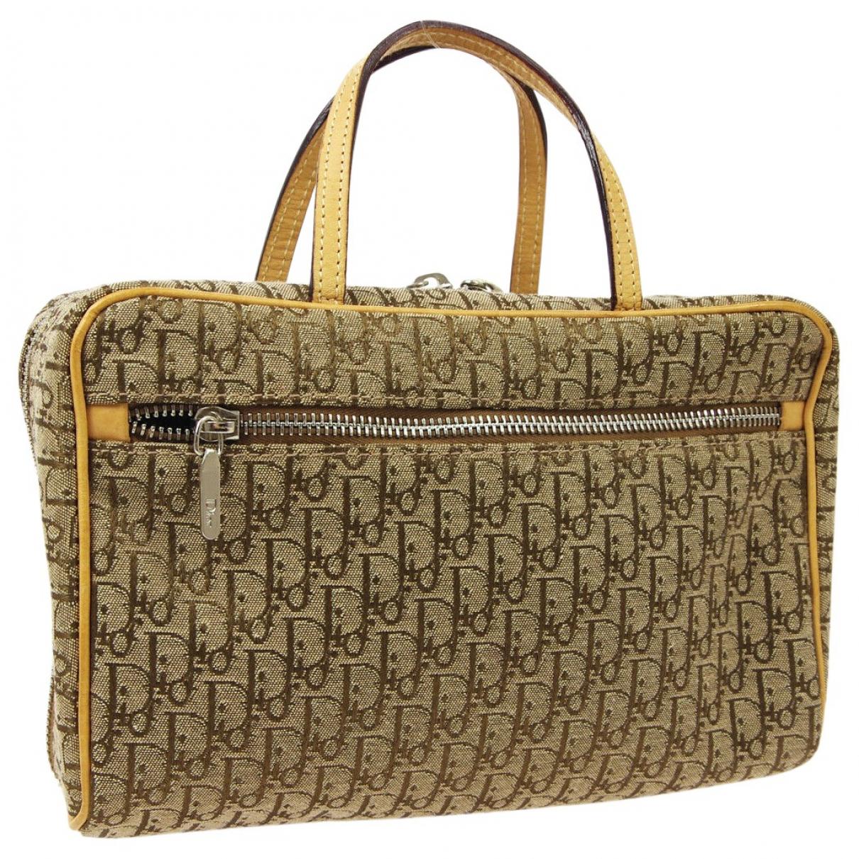 Dior \N Brown Cloth handbag for Women \N
