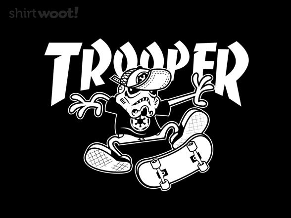 Skate Trooper T Shirt