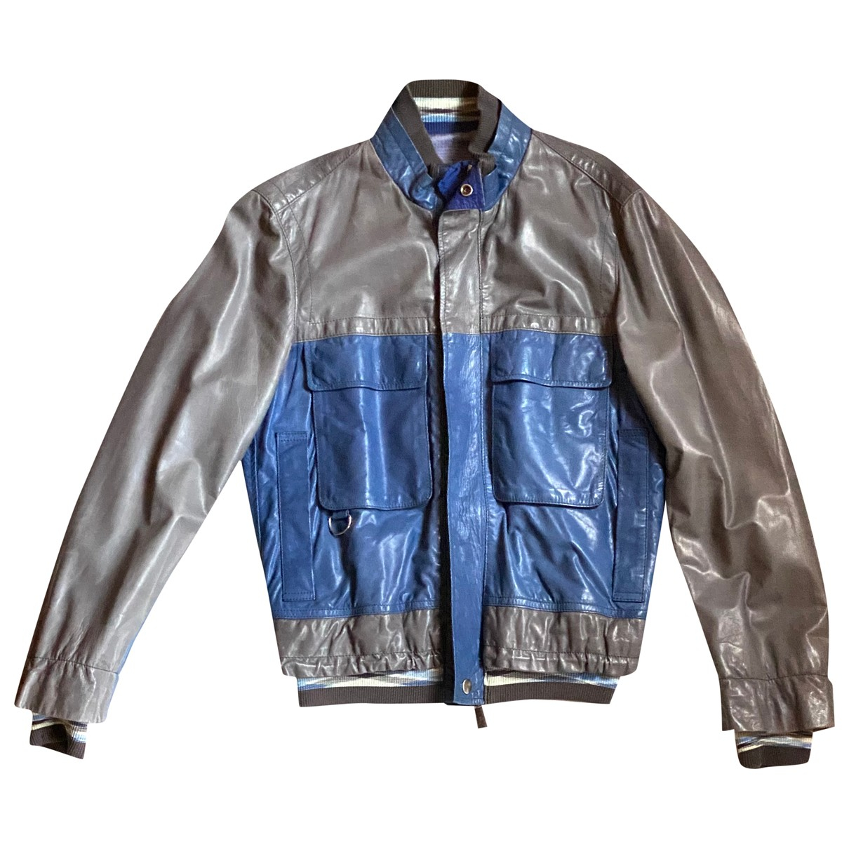 Missoni N Leather jacket  for Men 48 IT