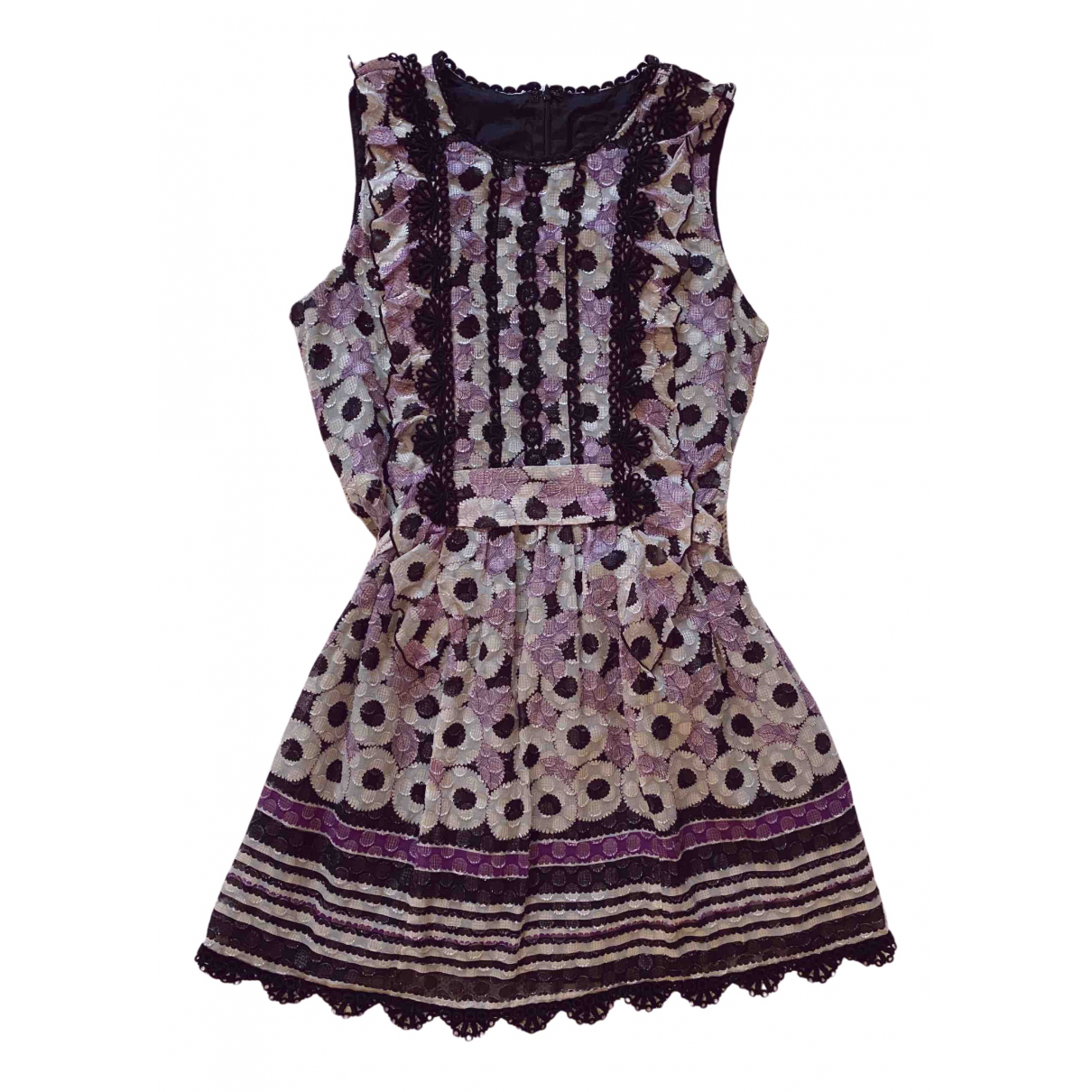 Anna Sui \N Kleid in  Bunt Polyester