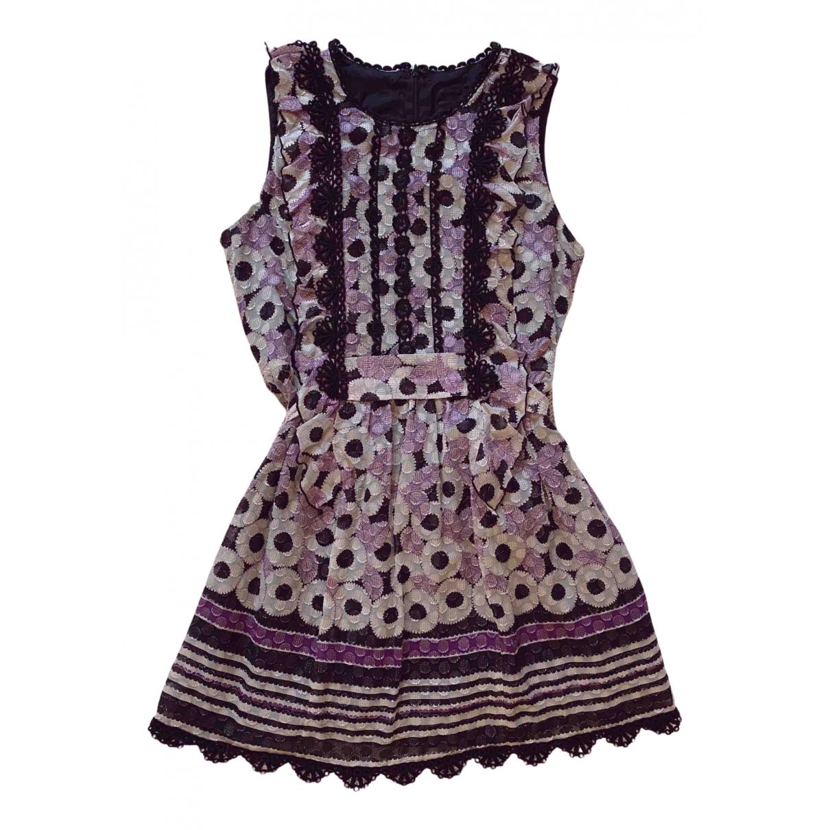 Anna Sui \N Kleid in  Bunt Polyester