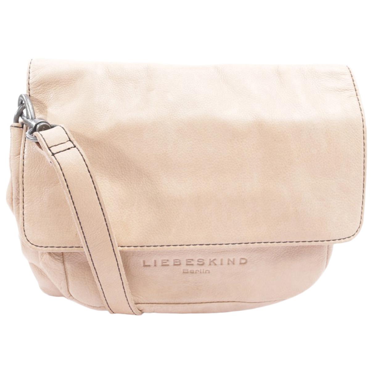 Autre Marque \N Beige Leather handbag for Women \N