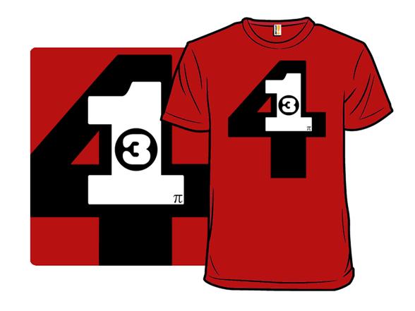 Stacked Pi T Shirt