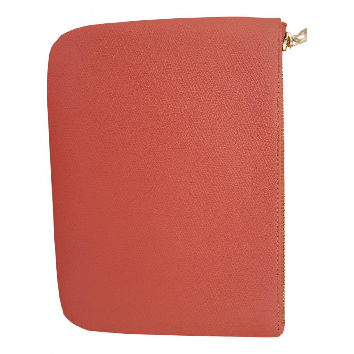 Furla - Pochette   pour femme en cuir - rose
