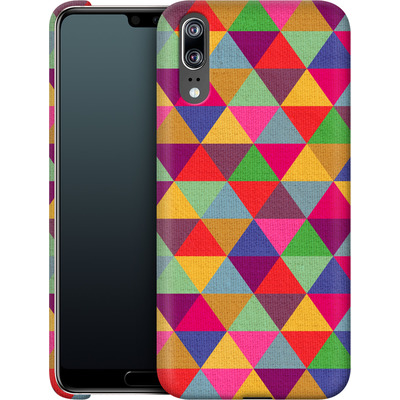 Huawei P20 Smartphone Huelle - In Love With Triangles von Bianca Green