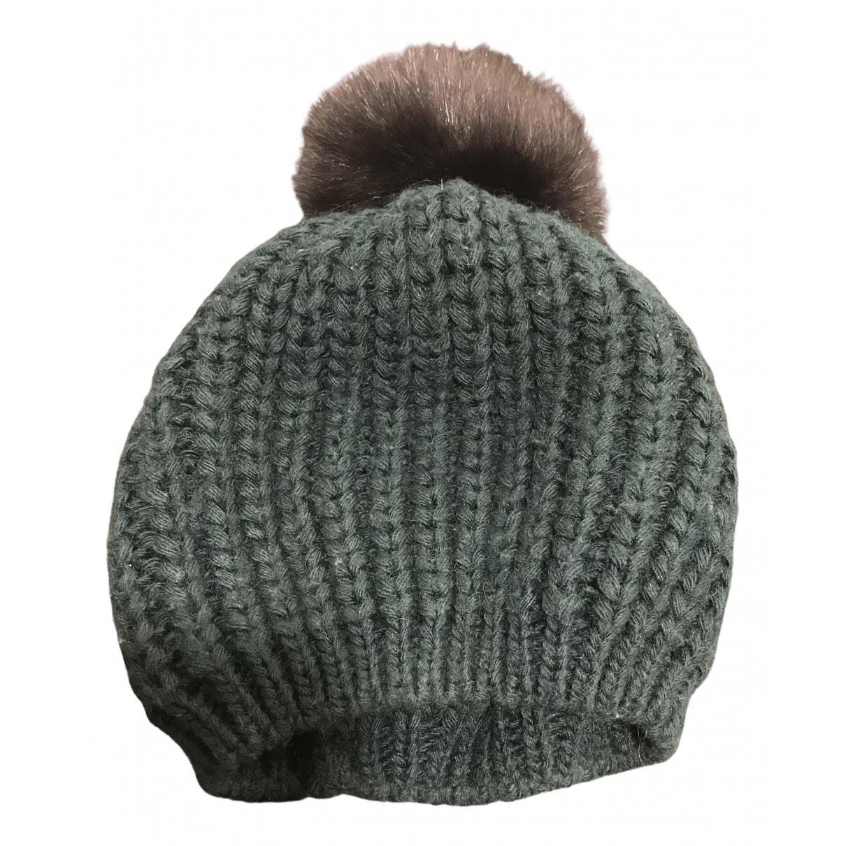 Sandro N Green Wool hat for Women M International