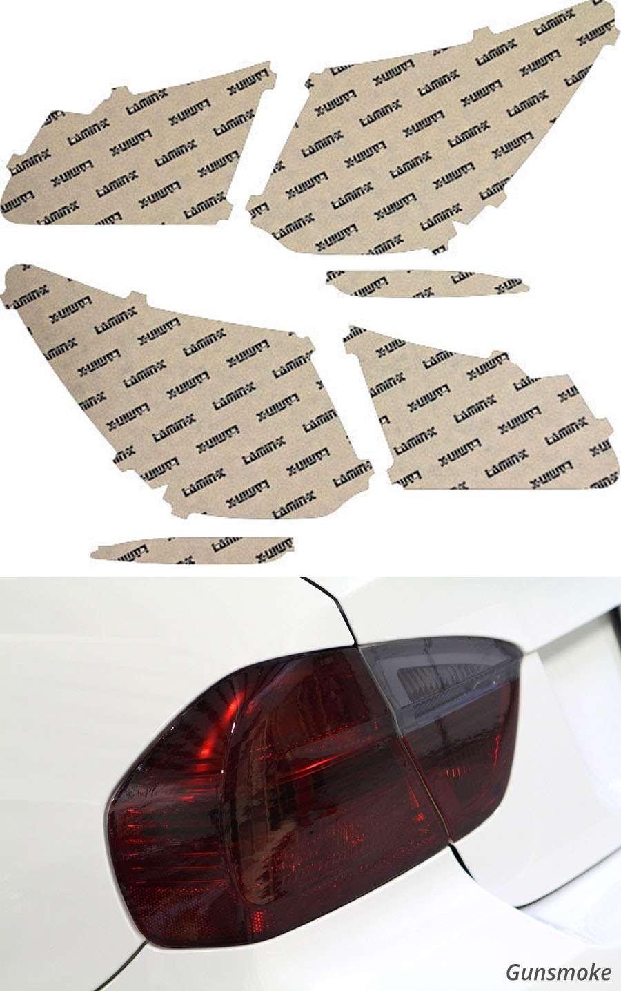 Acura RLX 14-20 Gunsmoke Tail Light Covers Lamin-X AC226G