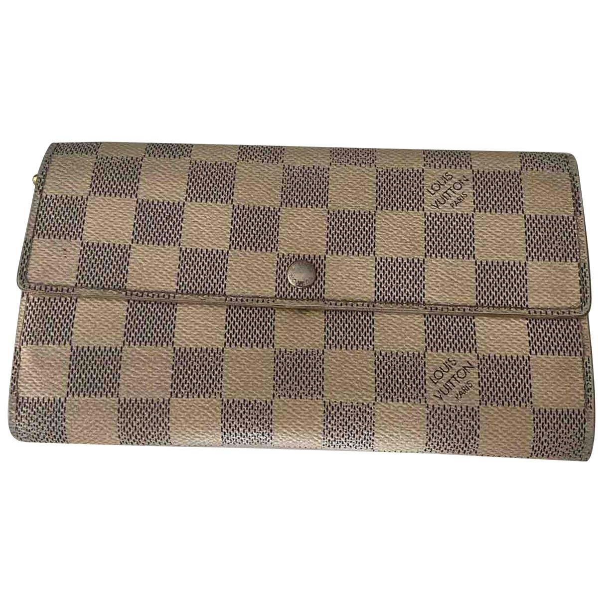 Louis Vuitton Virtuose Beige Cloth wallet for Women \N