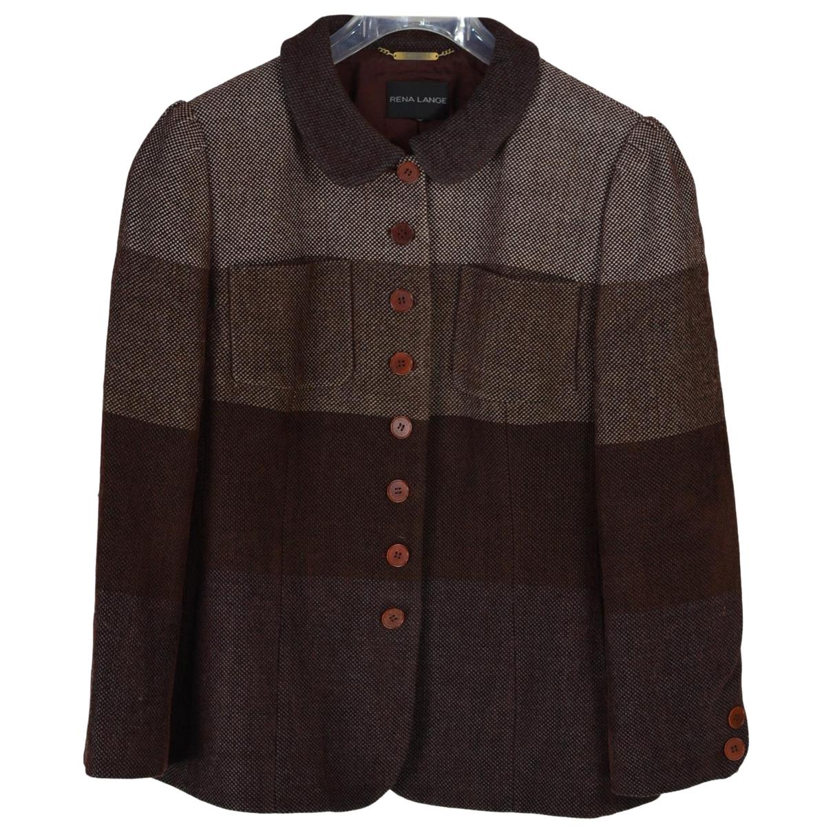 Rena Lange - Veste   pour femme en laine - multicolore