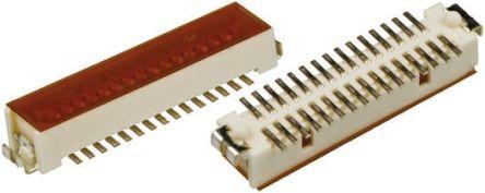 Hirose , DF9, 25 Way, 2 Row, Straight PCB Header (5)
