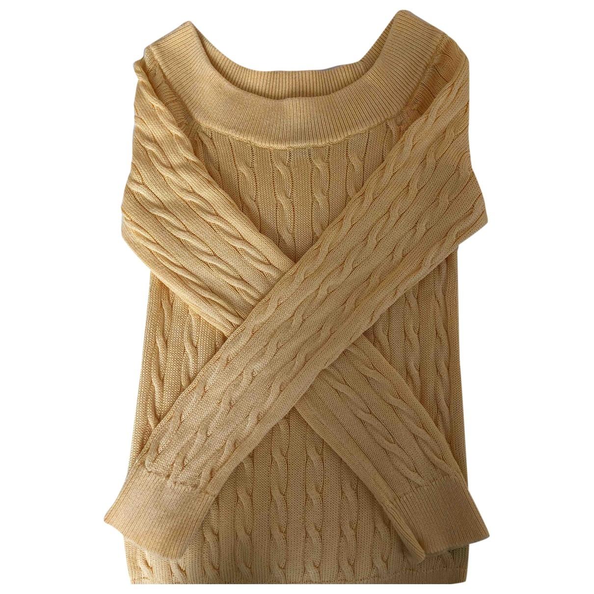 Lauren Ralph Lauren \N Yellow Cotton Knitwear for Women XS International