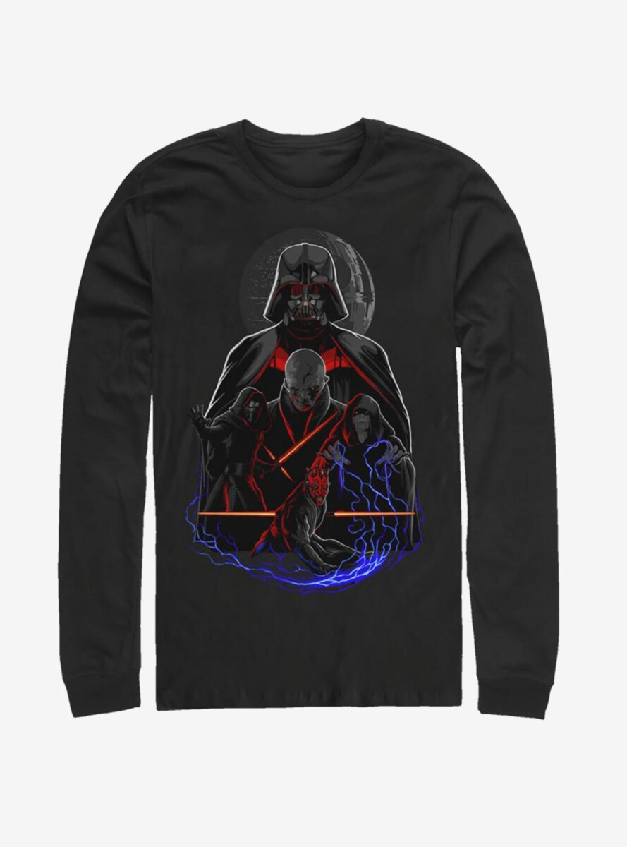 Star Wars Lords Of The Dark Side Long-Sleeve T-Shirt