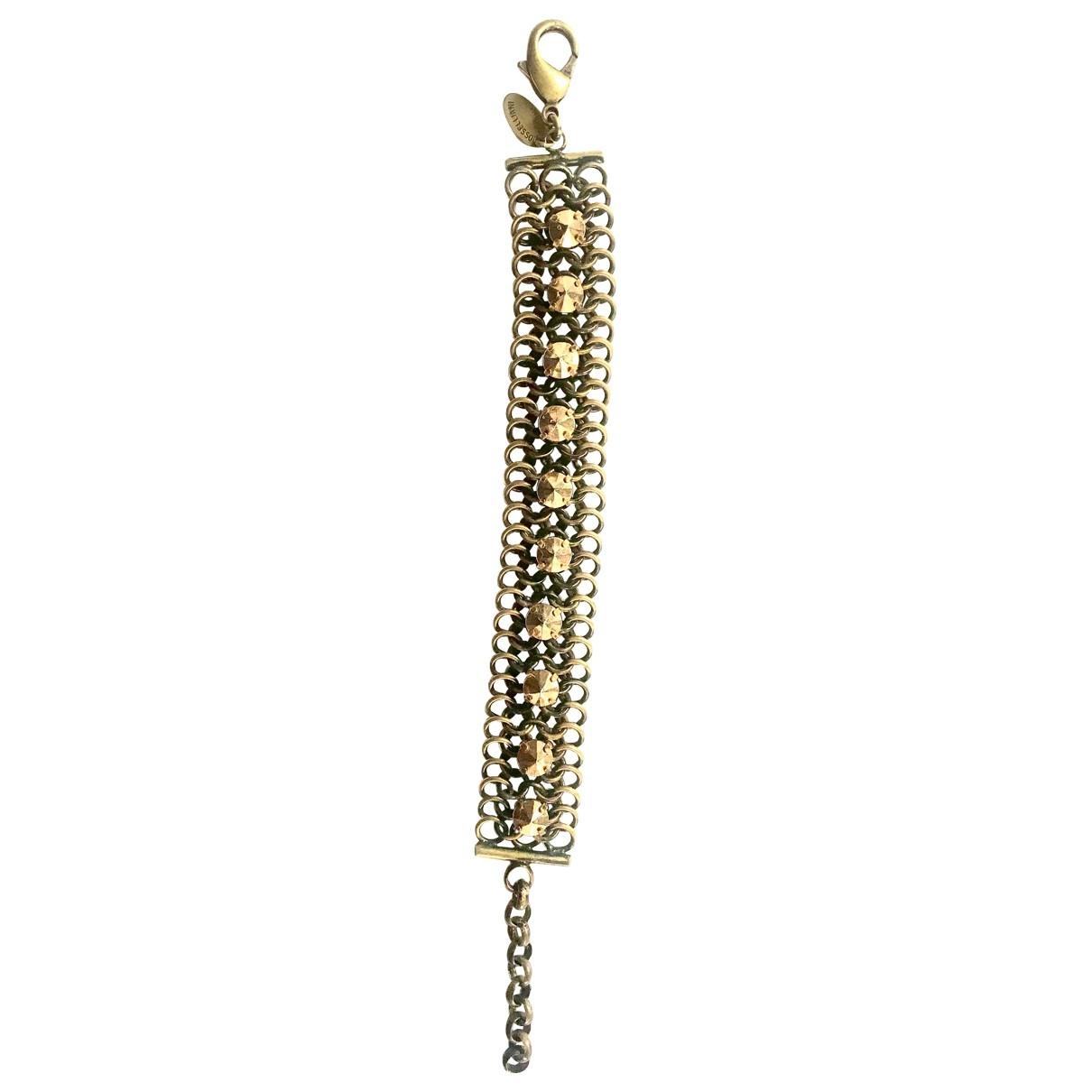 Iosselliani \N Armband in  Gold Metall