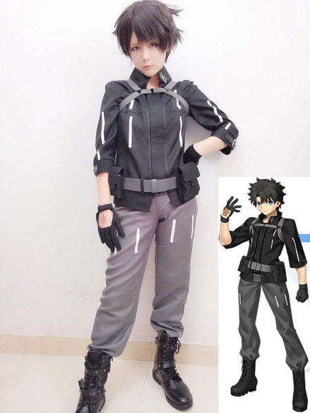 Milanoo Fate Grand Order Boy Master Halloween Cosplay Costume