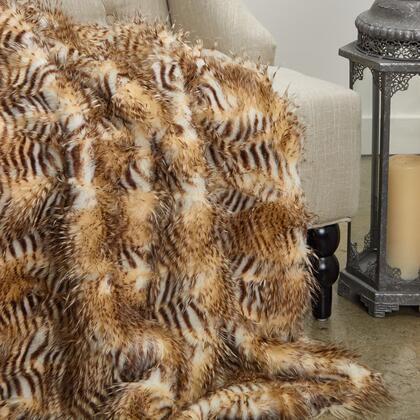 Porcupine Collection PBEZ1782-6096-TC 60W x 96L Beige Faux Fur Luxury