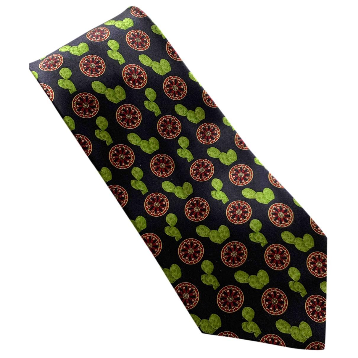 Dolce & Gabbana - Cravates   pour homme en soie - marine