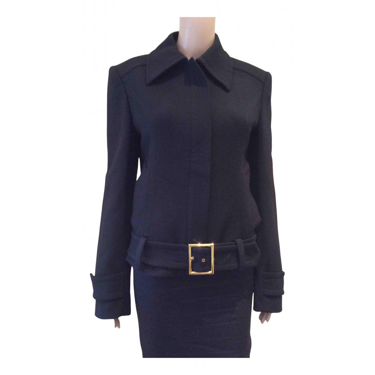 Dolce & Gabbana - Veste   pour femme en laine - noir