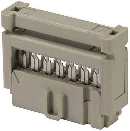 HARTING 16-Way IDC Connector Socket, 2-Row (10)