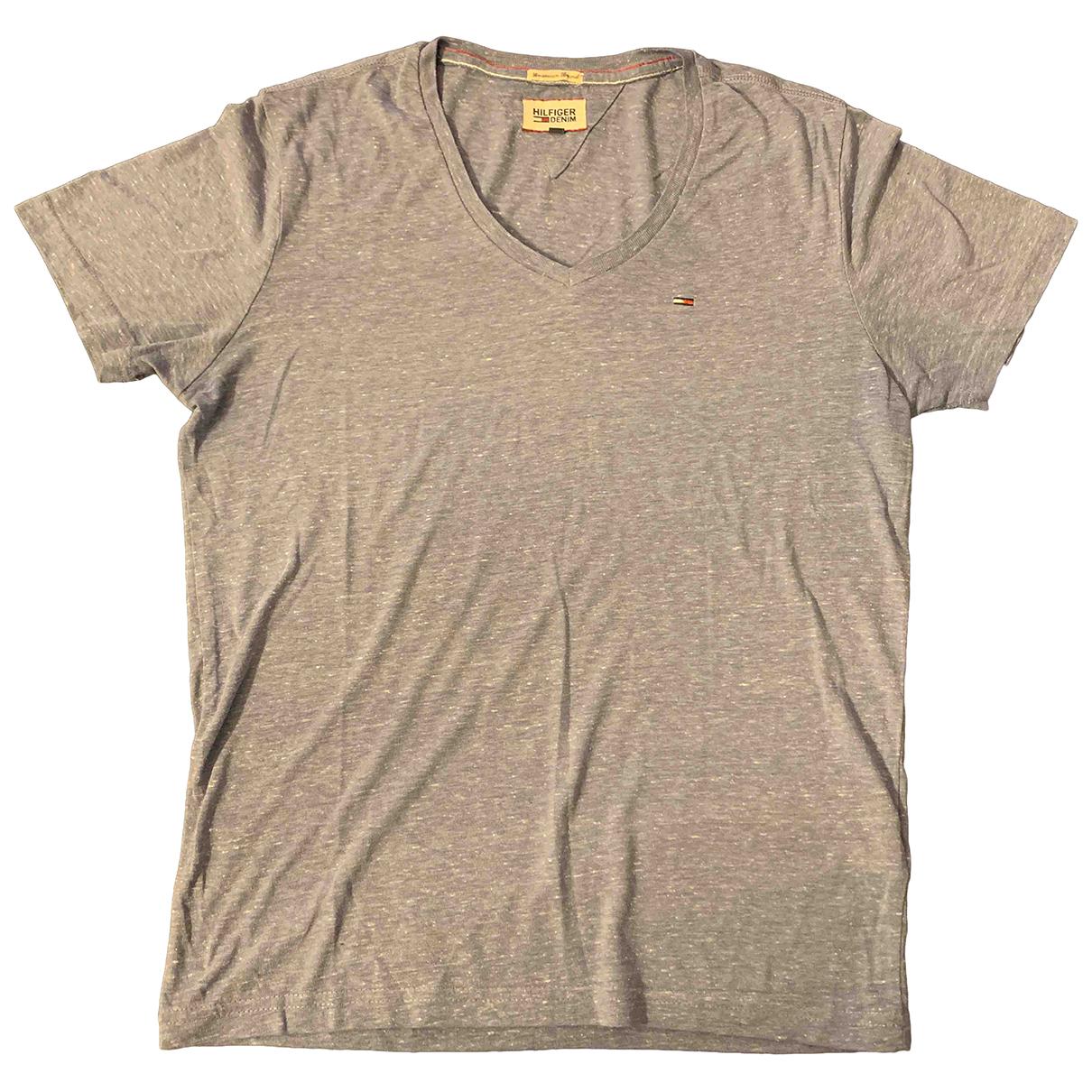 Tommy Hilfiger N Blue Cotton T-shirts for Men S International