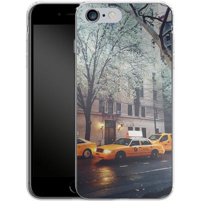 Apple iPhone 6 Plus Silikon Handyhuelle - NYC Yellow Cabs von Omid Scheybani