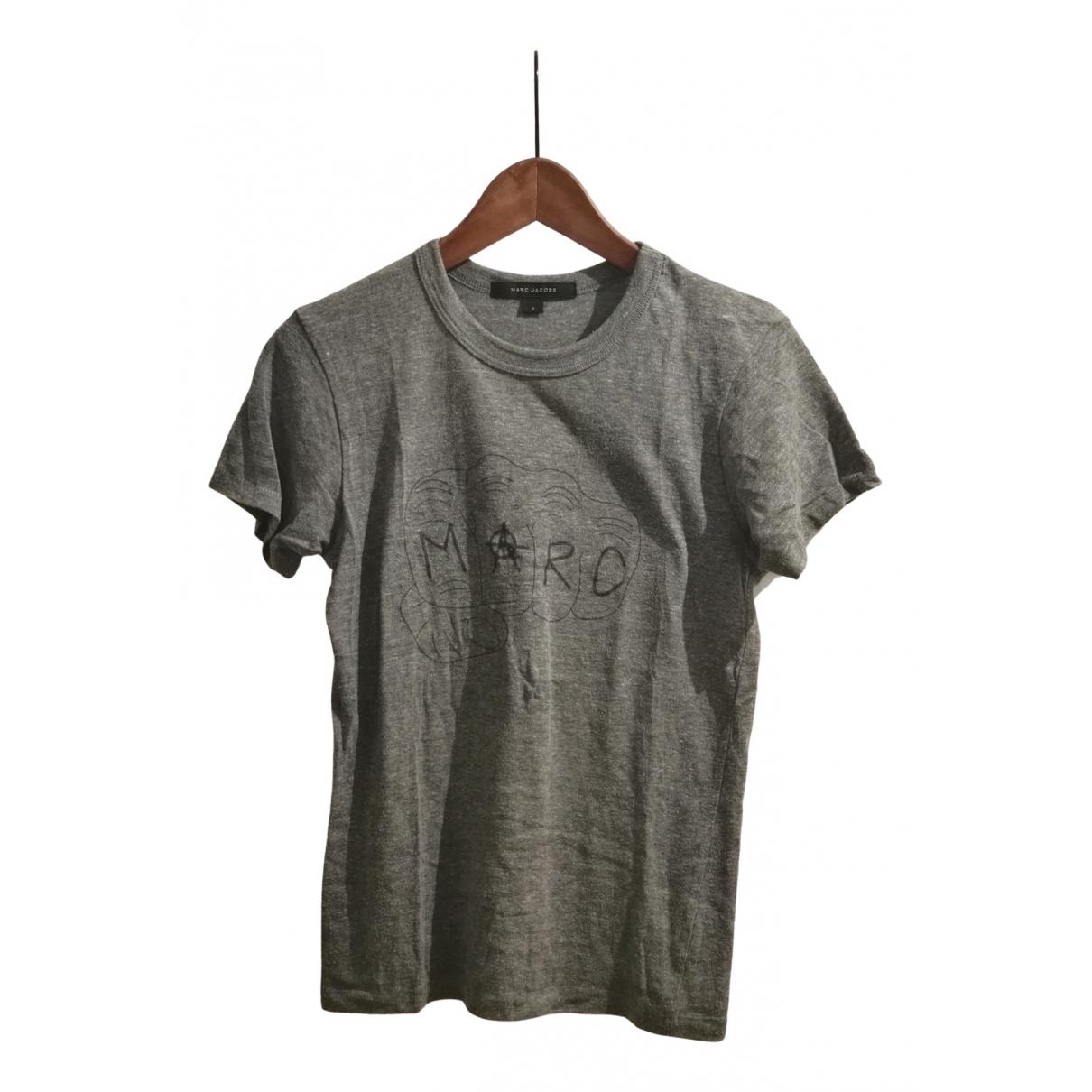 Marc Jacobs - Top   pour femme en coton - gris