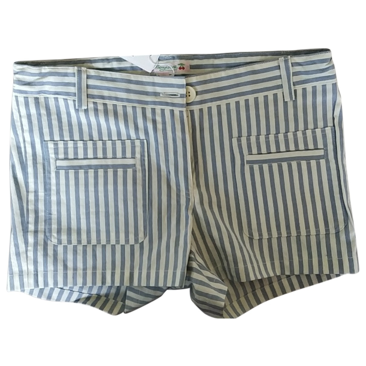Bonpoint \N Blue Cotton Shorts for Kids 12 years - XS FR