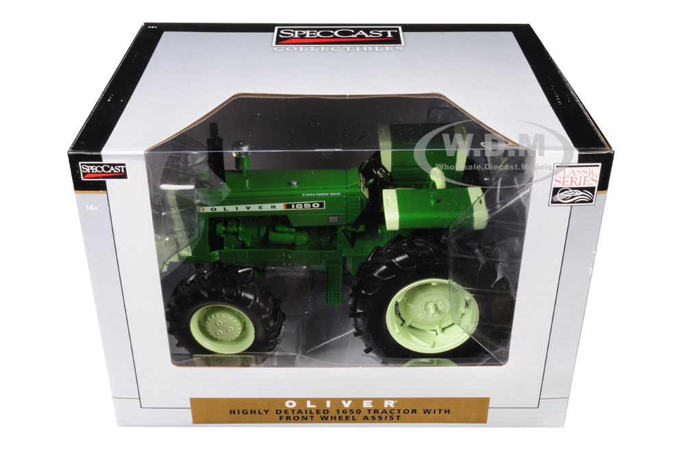 Oliver 1650 Tractor with Front Wheel Assist