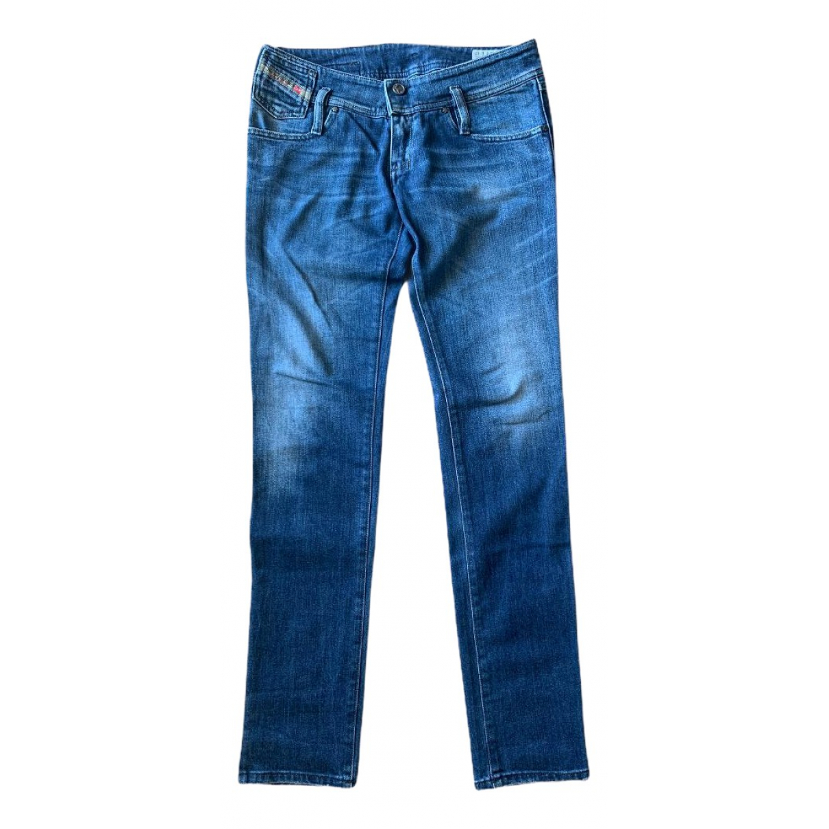 Diesel \N Blue Denim - Jeans Jeans for Women 29 US