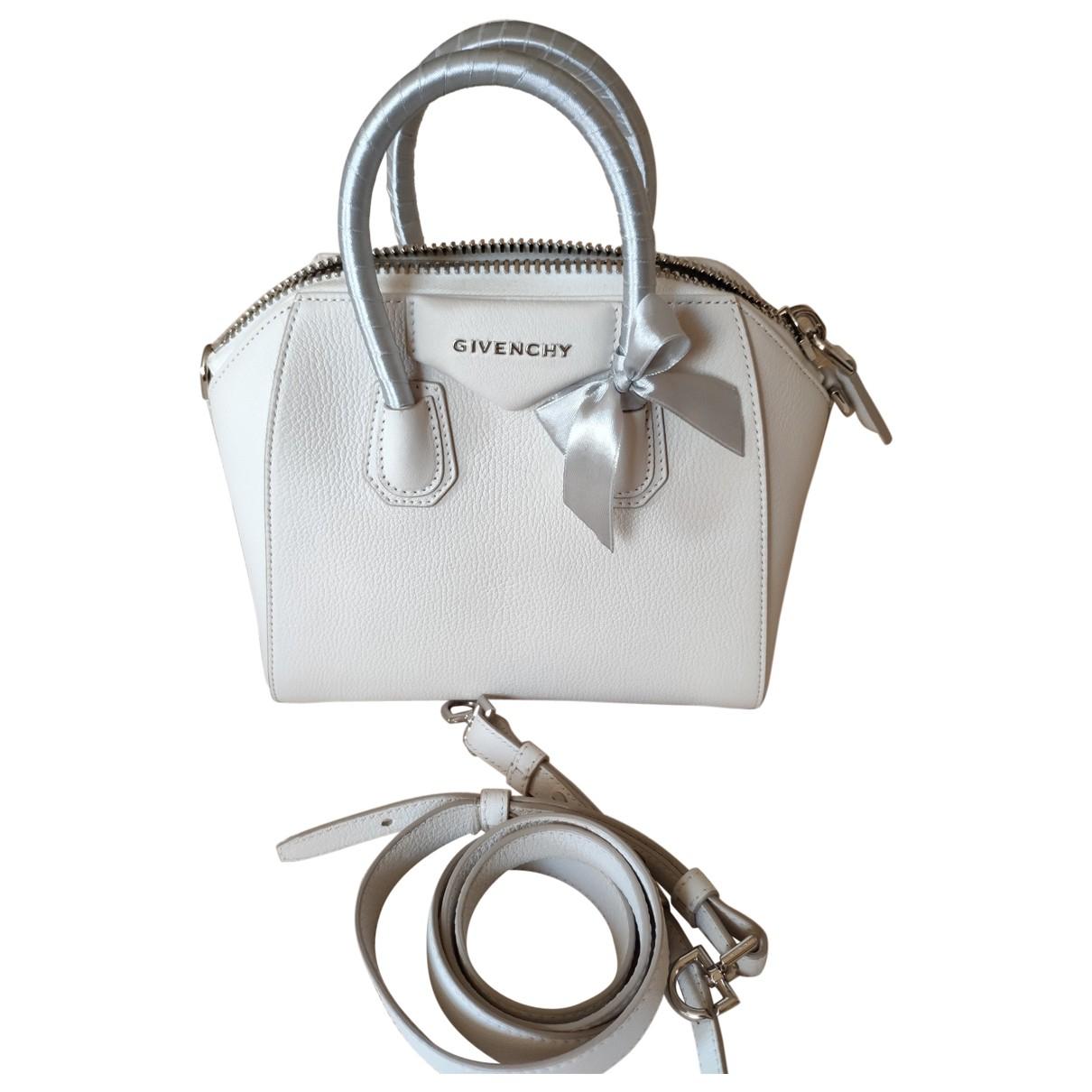 Givenchy - Sac a main Antigona pour femme en cuir - blanc