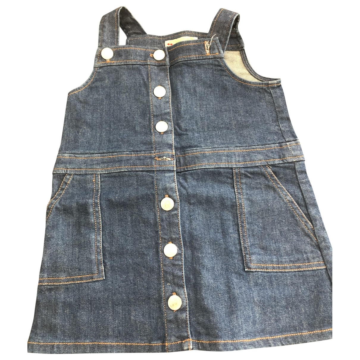 Bonpoint \N Blue Denim - Jeans dress for Kids 3 years - up to 98cm FR