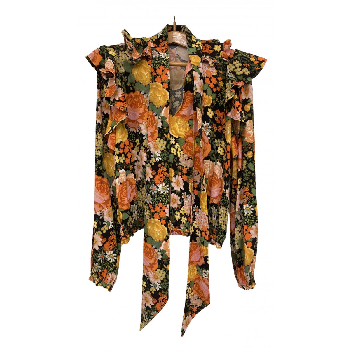 Balenciaga - Top   pour femme - multicolore